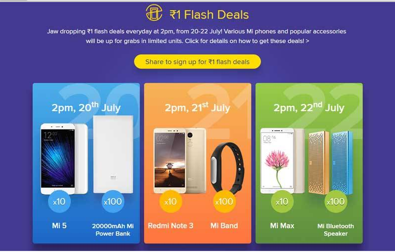 1a030377c Xiaomi flash sale  Day 1 goes horribly wrong as Mi 5 gets sold out ...