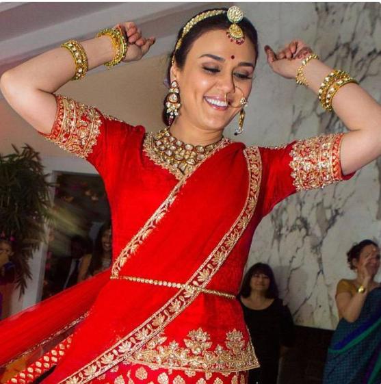 Preity Zinta wedding pictures looks gorgeous