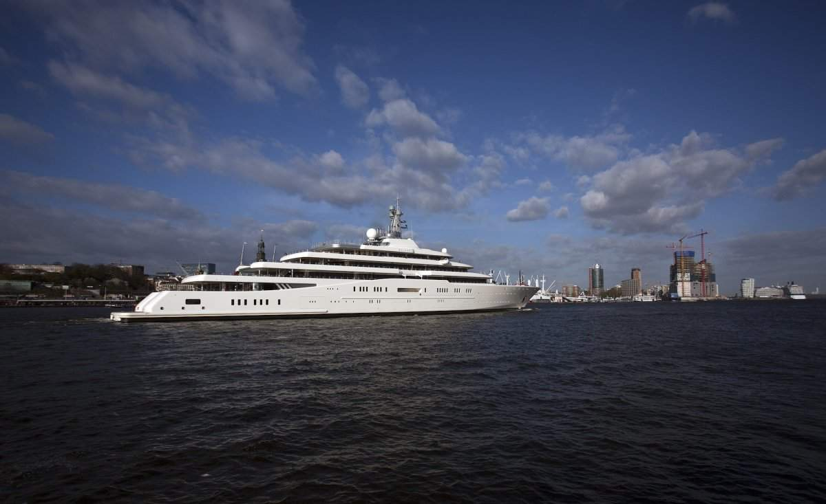 11 The Eclipse Yacht Reportedly Cost 500 Million And Is Owned By