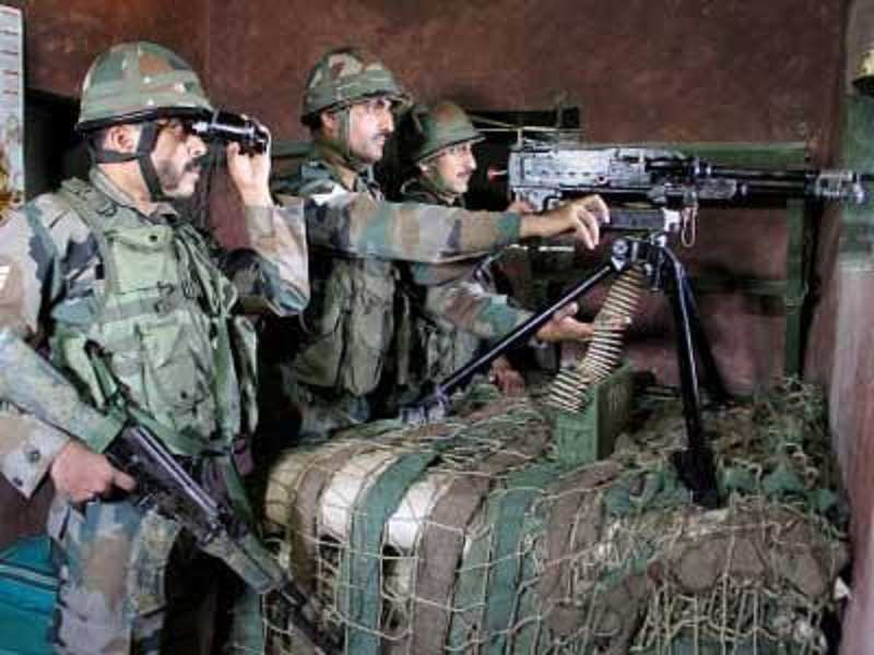 Different Slogans Along The Loc Are Boosting Morale Of Snipers In