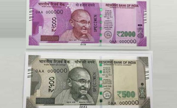 Indian bank shares plunge as new notes'stock ends
