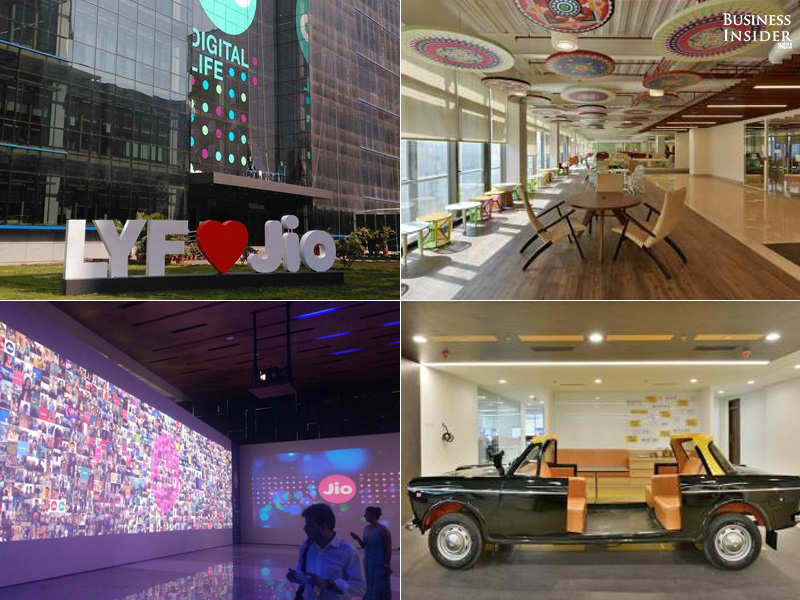 Life at Reliance Jio HQ: The place where all the Jio action