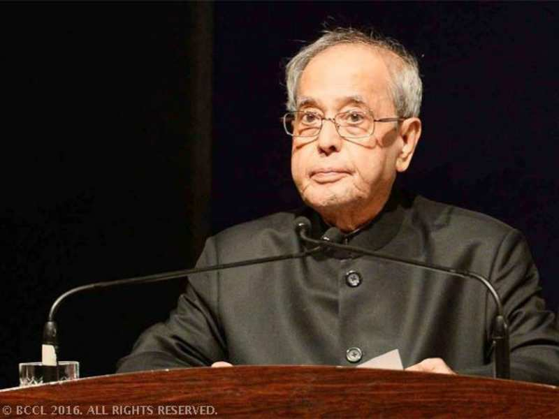 God's sake, do your job: President Pranab Mukherjee targets Opposition