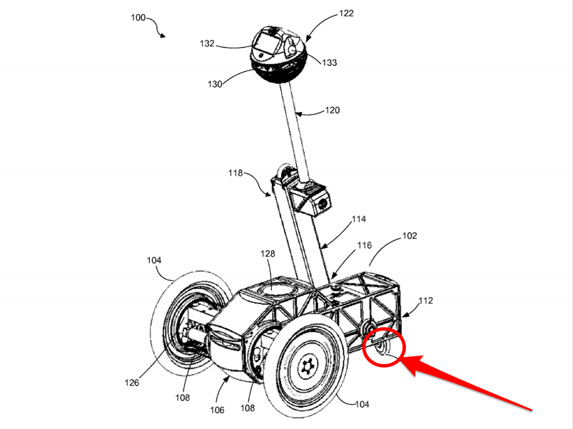 Facebook filed a patent application for self-balancing robots