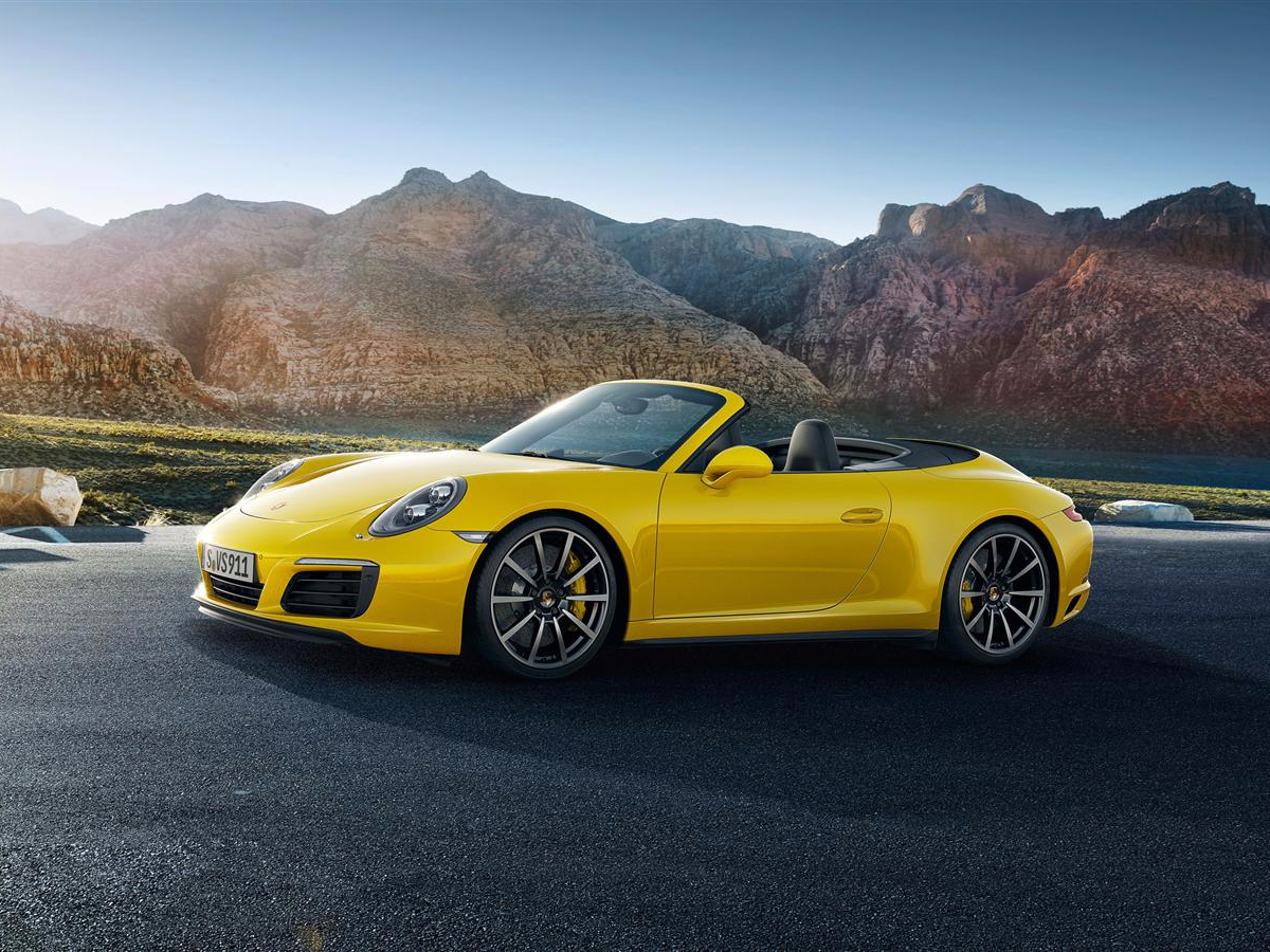 And The Carrera 4s Cabriolet Is The Convertible Edition Business Insider India