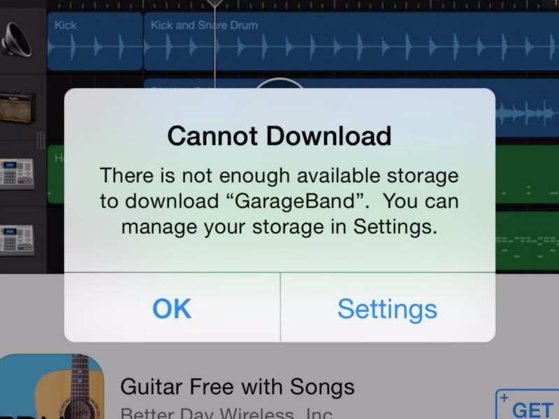 No need to worry about storage space while downloading apps in your