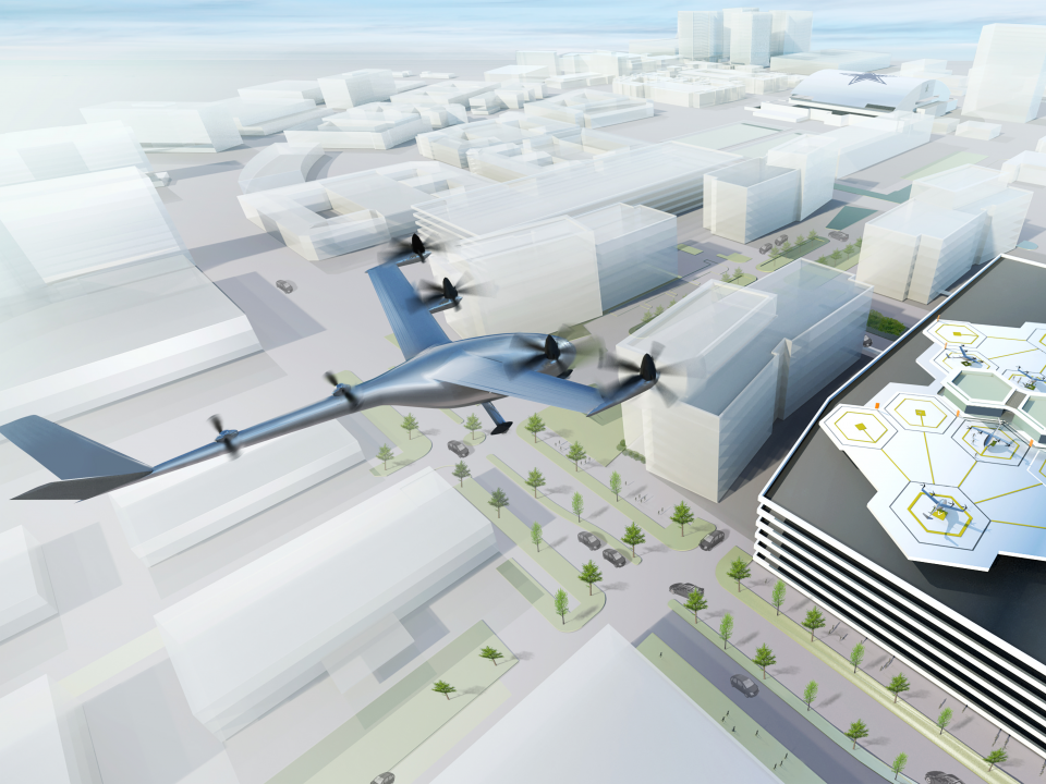 Uber wants to test its network of flying taxi planes by 2020