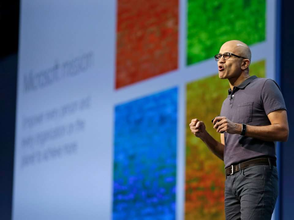 the change in business of microsoft corporation
