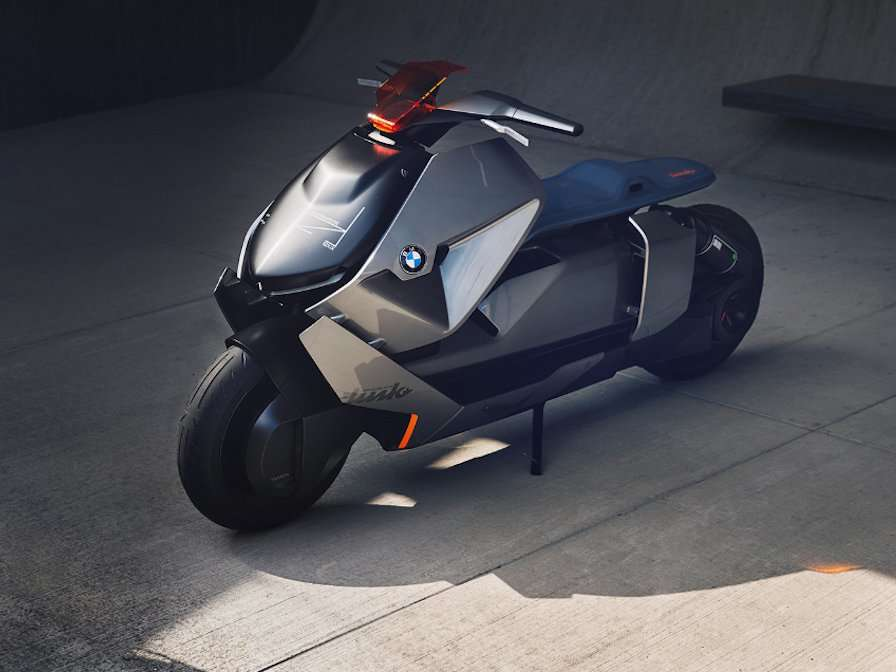 Bmw Just Unveiled An Electric Scooter Concept That Looks