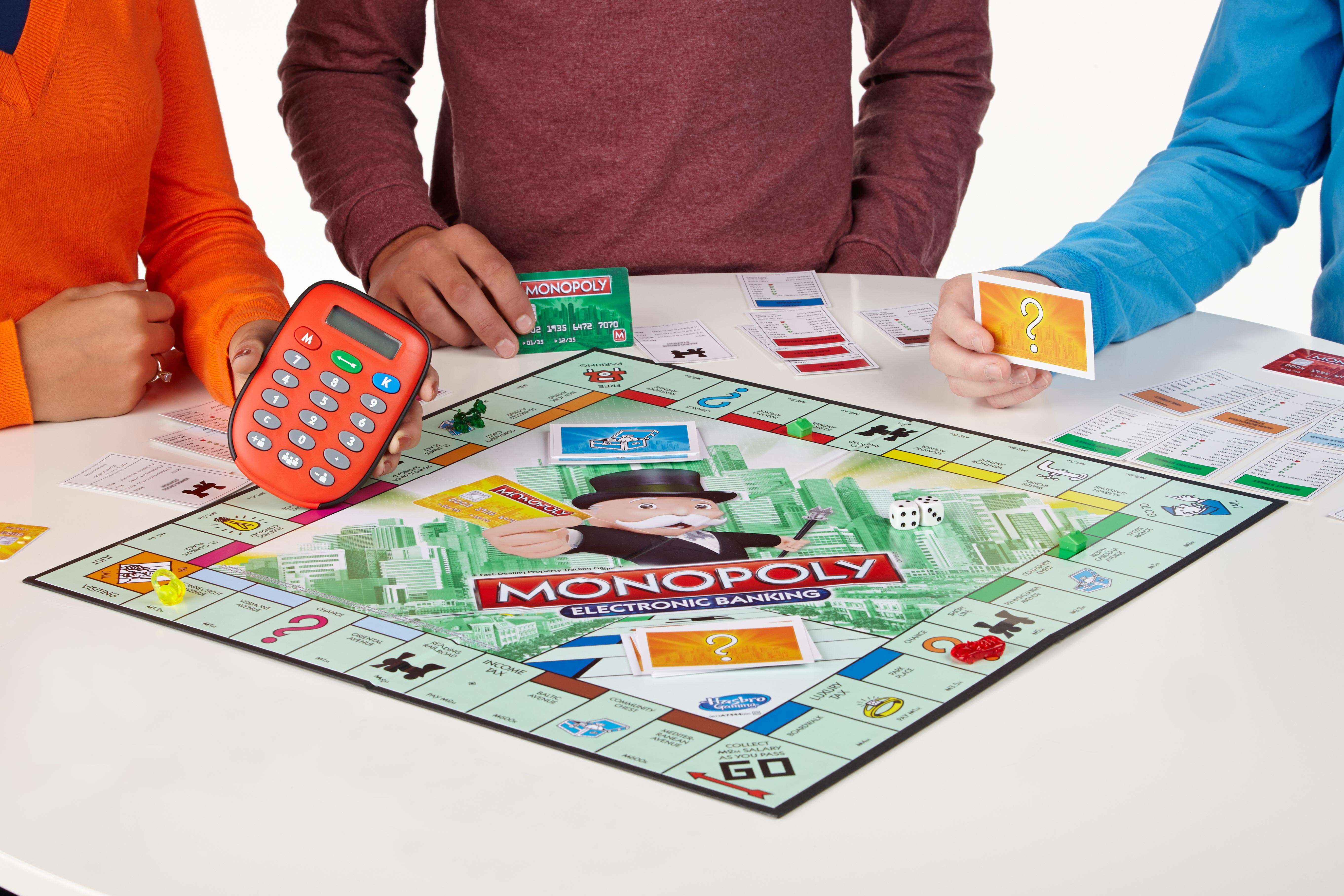 Inspired By The Move To Digital Economy In India Mr Monopoly Goes - Digital board game table