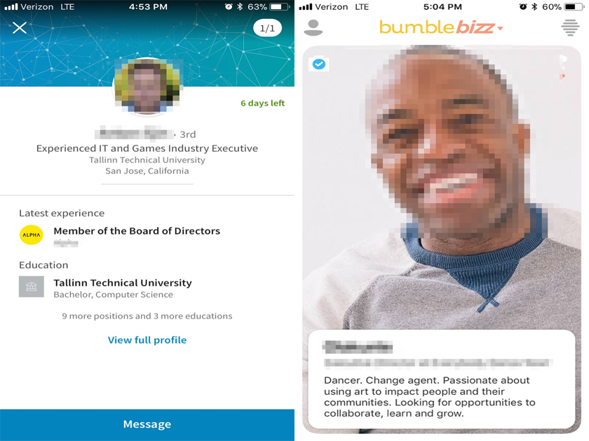 I Tried Linkedin S Career Advice App Vs Dating App Bumble S Version And Discovered Major Flaws With Both Business Insider India