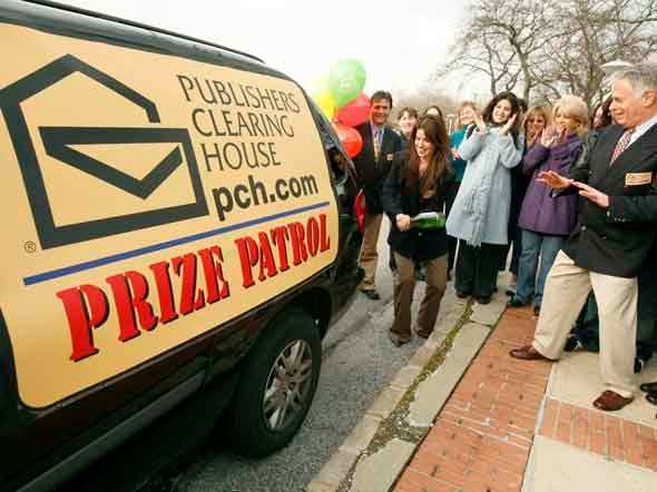 Publishers Clearing House, the mail order giant famous for