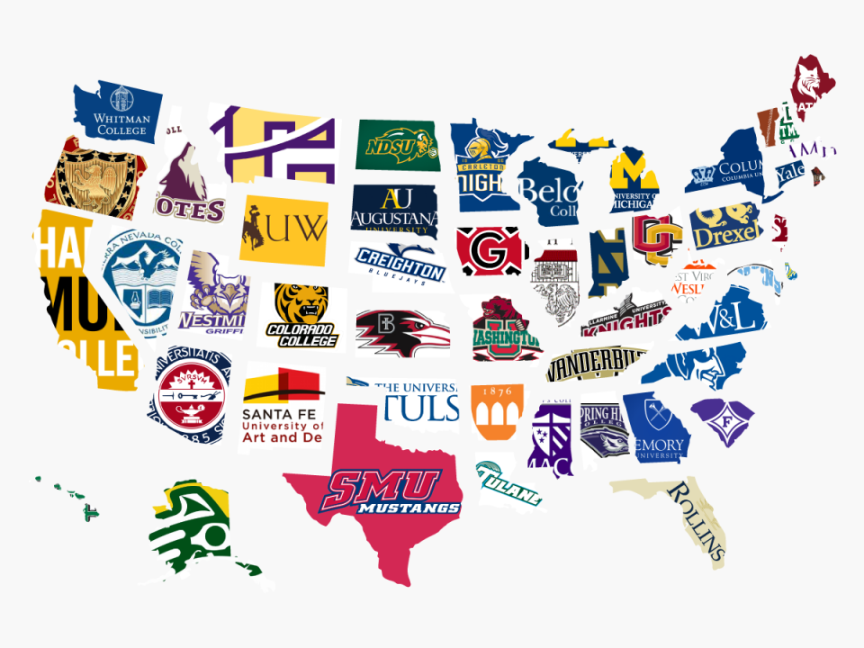 The most expensive college in every state, in one map ...