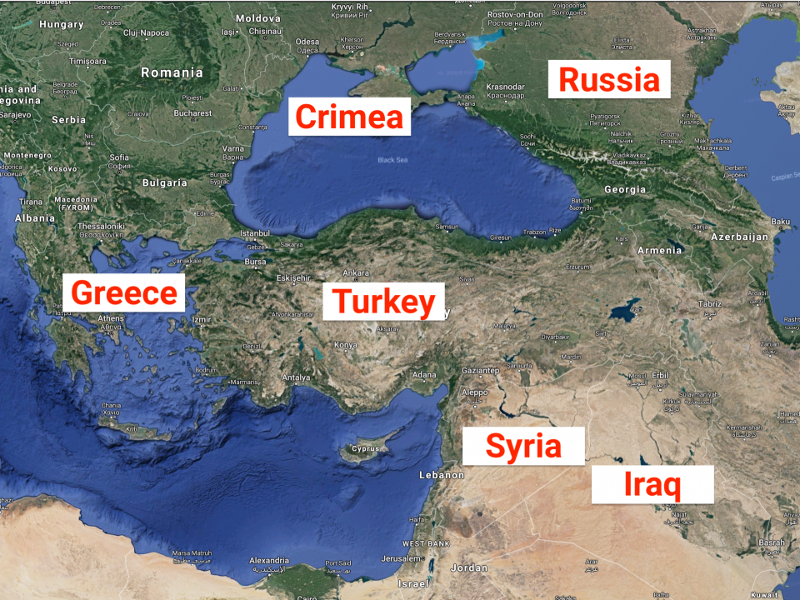 The reason Turkey's economic collapse is so scary is because Iran, Russia, and Syria are waiting in the wings
