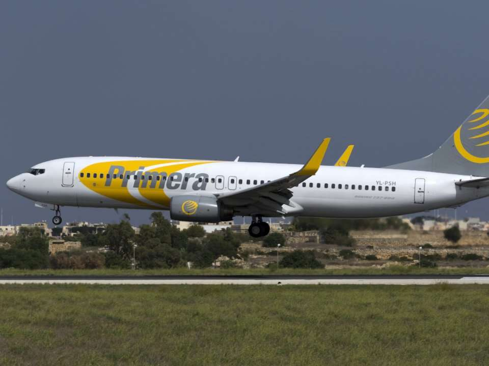 Primera Air Which Sold 99 Tickets From The US To Europe Is Filing For Bankruptcy