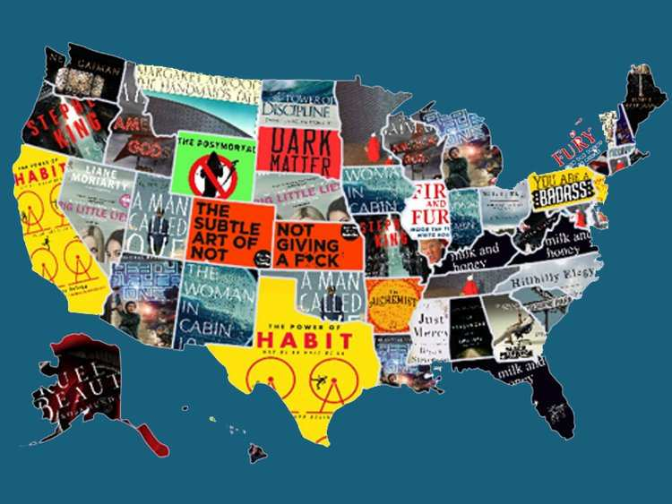 The Most Popular Books In All 50 States Right Now