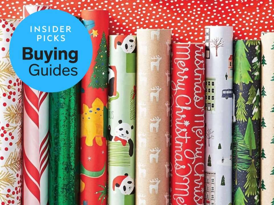 the best wrapping paper and gift wrapping supplies you can buy business insider india. Black Bedroom Furniture Sets. Home Design Ideas