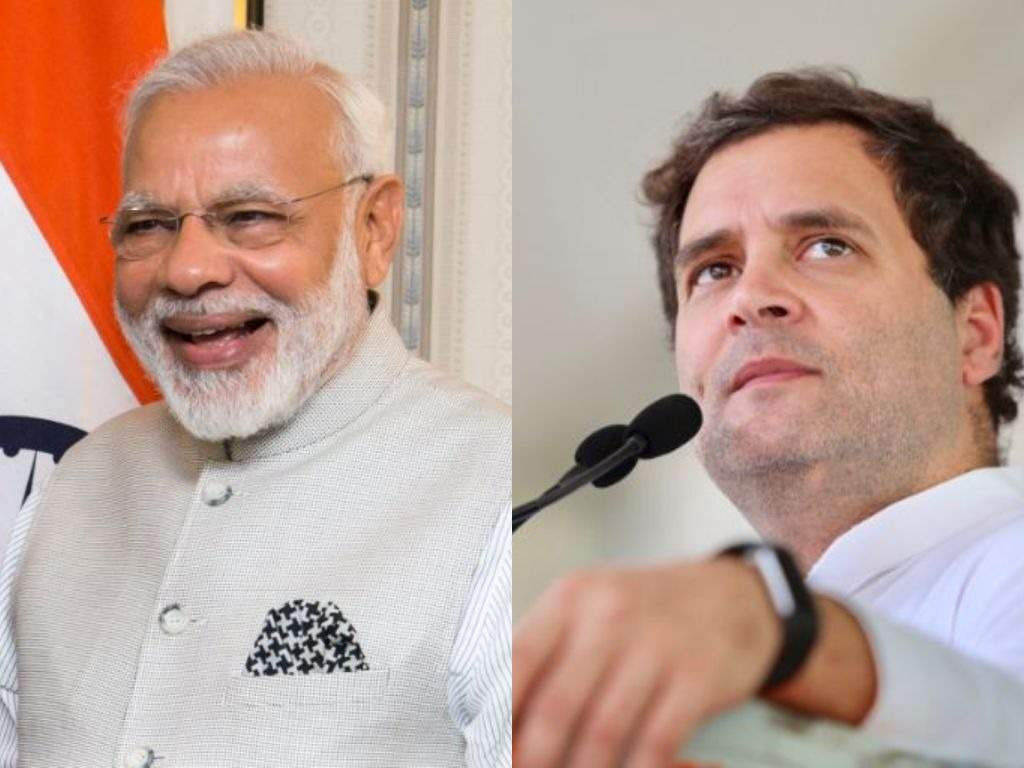 From Indian Prime Minister Narendra Modi to his rival Rahul