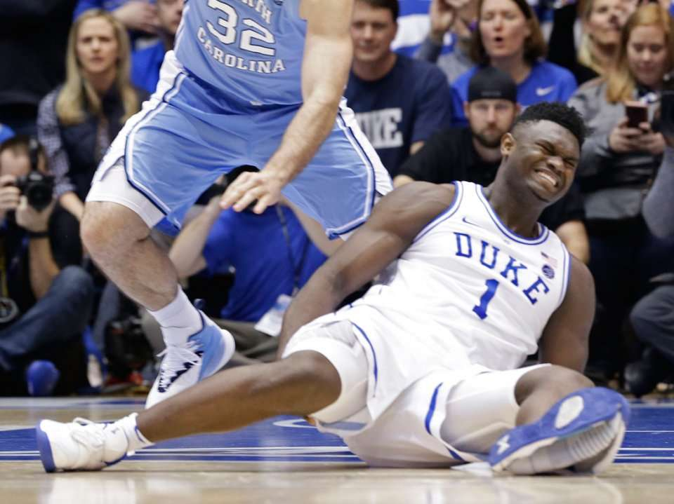 90704b456ee Zion Williamson s exploding shoe isn t as uncommon as you might think