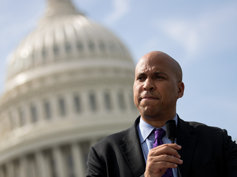 Cory Booker, the senator from New Jersey and the former ...