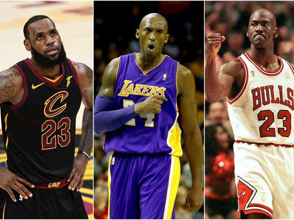 11946b02 Kobe Bryant just called himself the greatest basketball player of all time, ranking  Michael Jordan second and LeBron James third | Business Insider India
