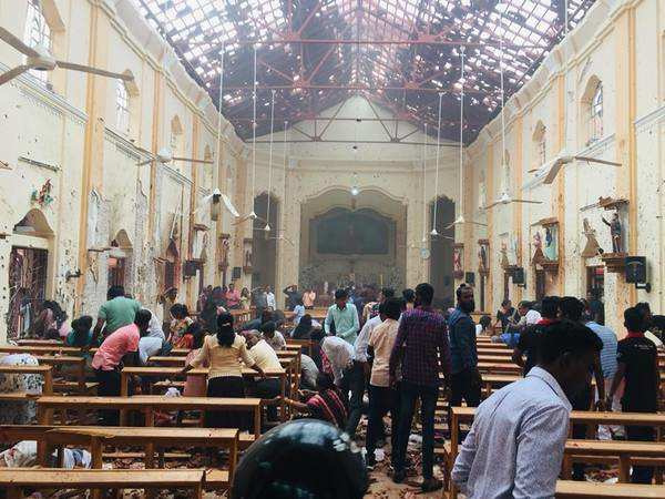 Sri Lankan government declares curfew after a seventh blast near Colombo