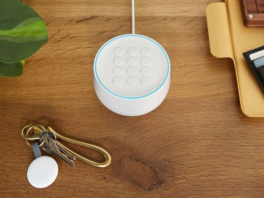 The $399 Nest Secure smart security system works with Google