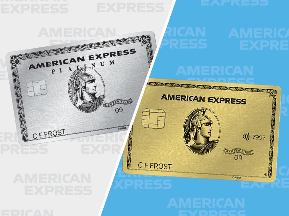 AmEx Platinum vs AmEx Gold: Which rewards credit card is ...