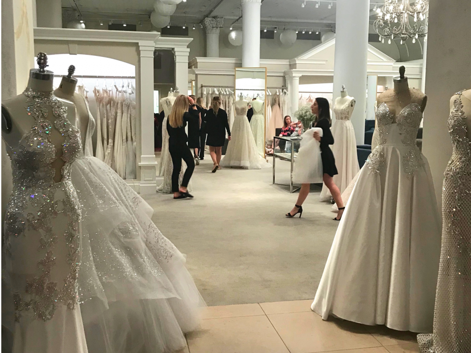 c1baf99c45d88 I went shopping at Kleinfeld, the high-end bridal salon where TLC's 'Say  Yes to the Dress' is filmed - here's what it was like | Business Insider  India