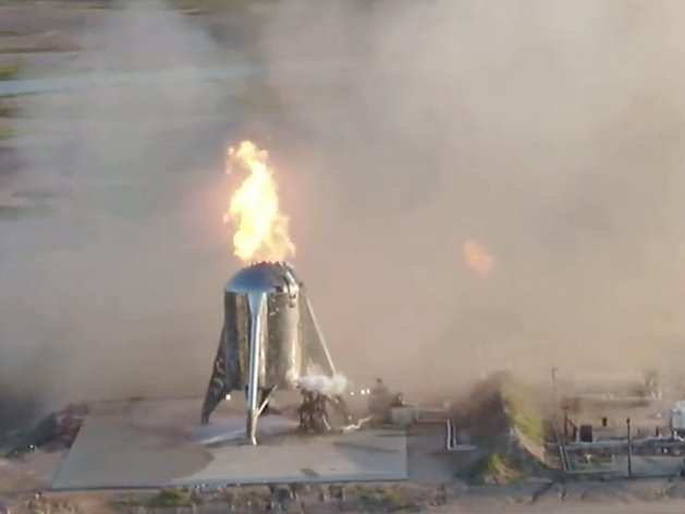 Tiny Home Designs: SpaceX Tried To Launch A Mars Spaceship Prototype On Its