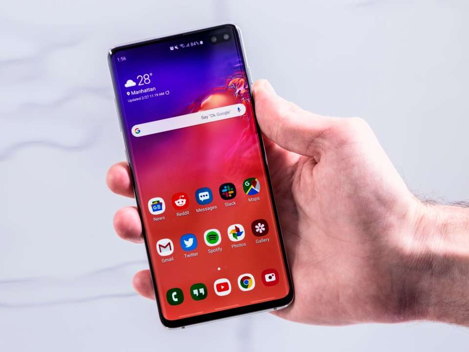 How to record your screen on a Samsung Galaxy S10, for