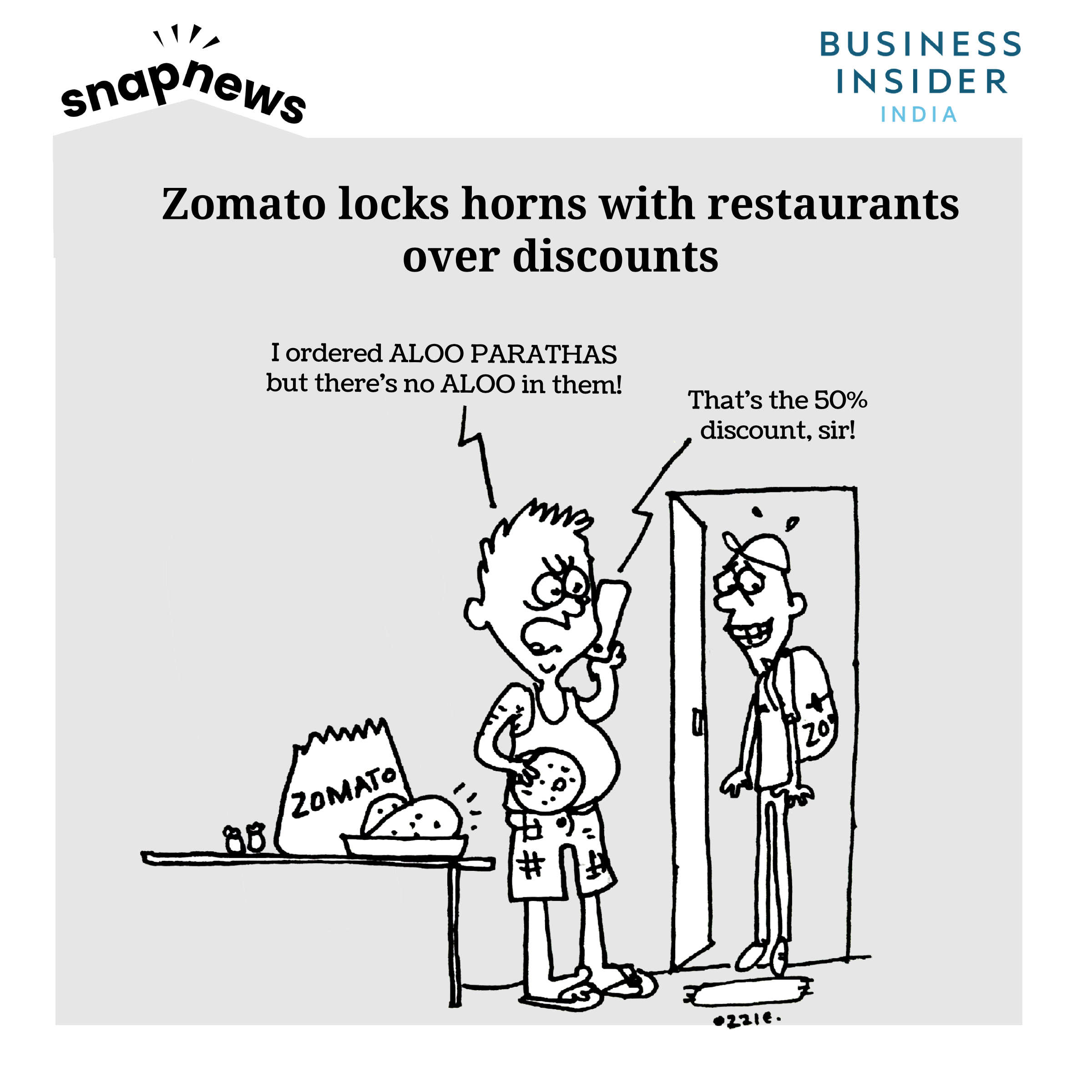 Zomato CEO Deepinder Goyal responds to the 'logout