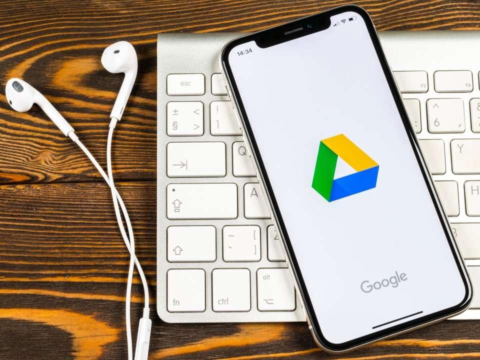 google drive ke iphone anda