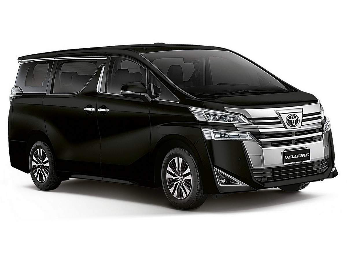 Upcoming Toyota Cars in India - Vellfire premium MPV to launch on February 26