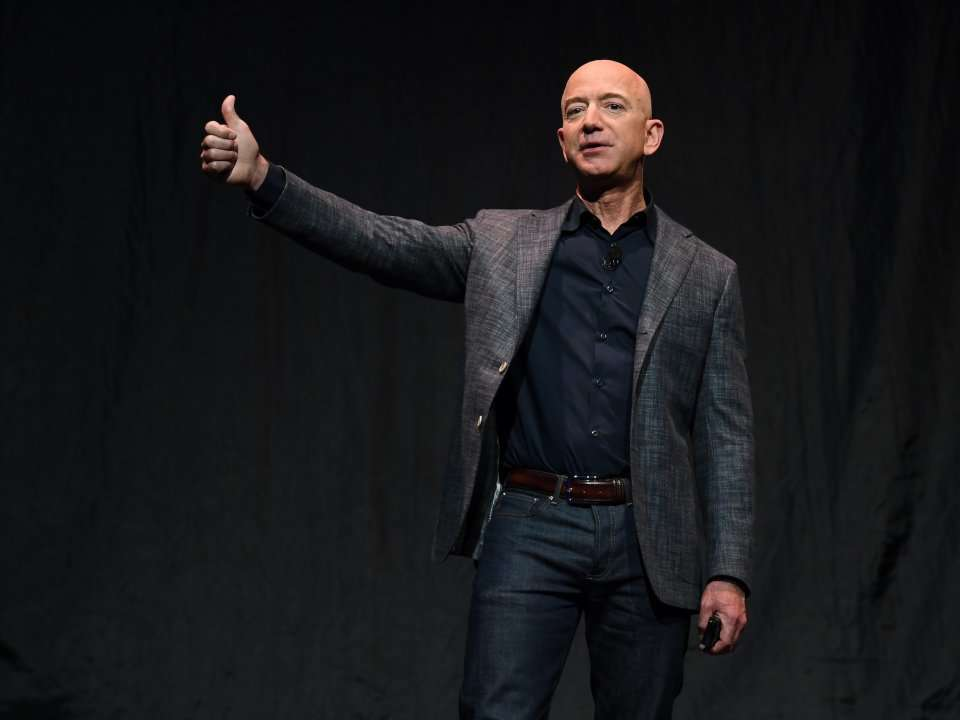 Jeff Bezos says he's giving $10 billion to fight climate change - about 7.7% of his net worth - Business Insider India thumbnail