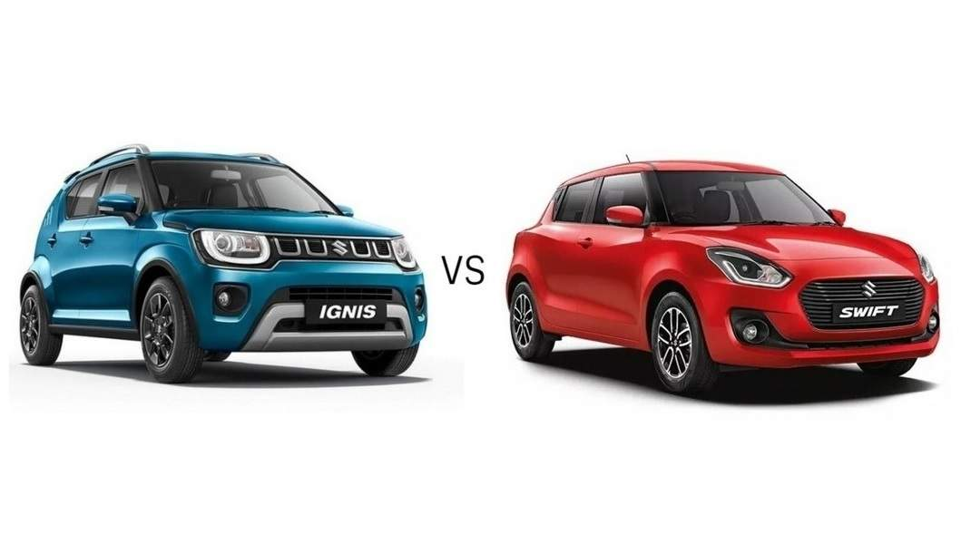 Maruti Suzuki Ignis 2020 vs Maruti Suzuki Swift: Which Maruti ...