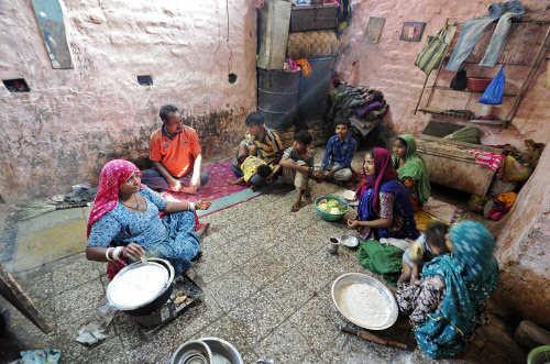 Indian women poor Poverty in