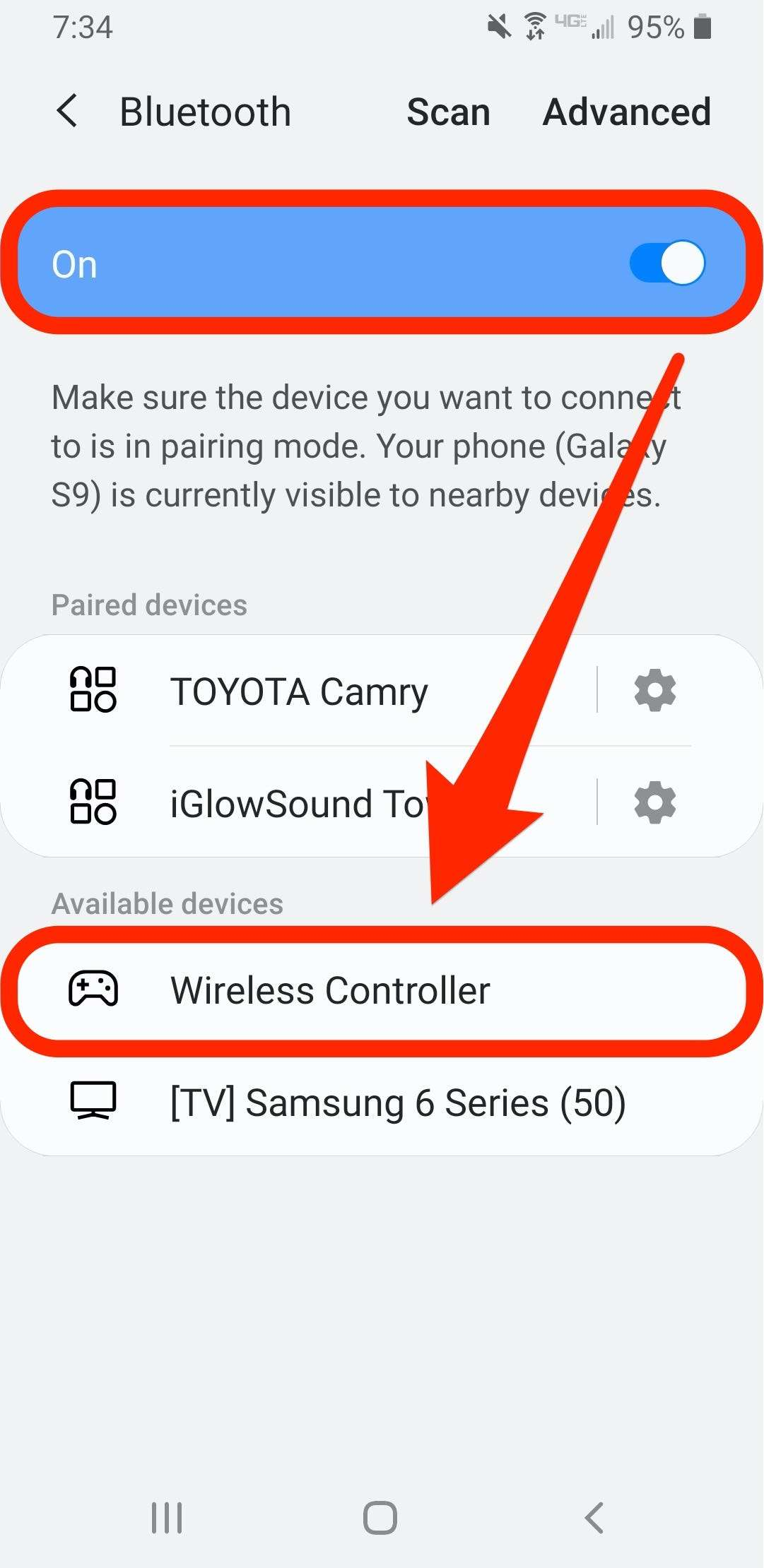 How to connect a PS4 controller to your Android phone or tablet to play games with it
