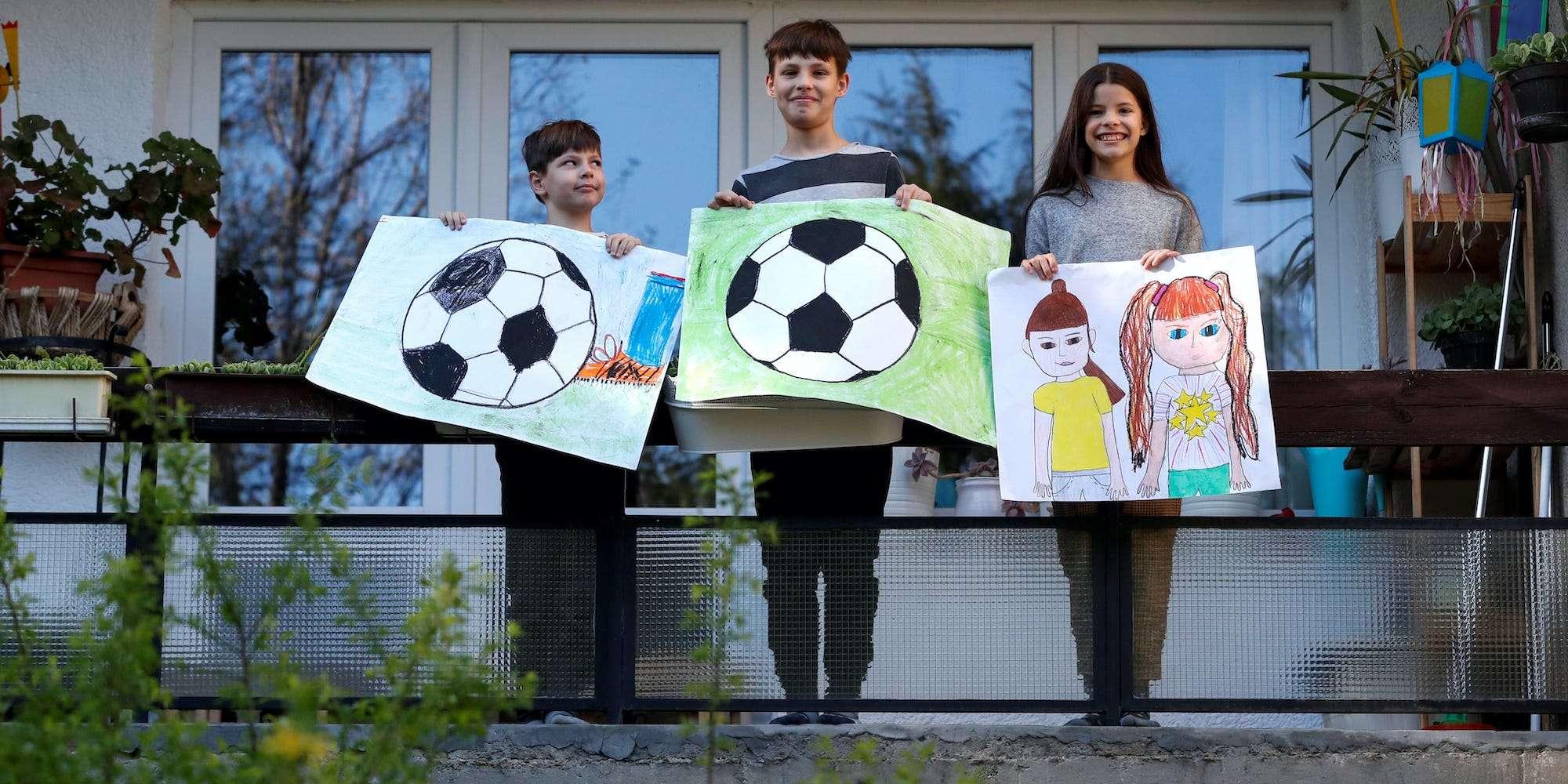 Children Around The World Draw What They Miss Most Under Lockdown Insider