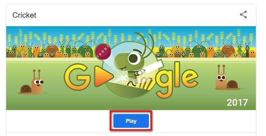 how to play cricket on google business insider india how to play cricket on google
