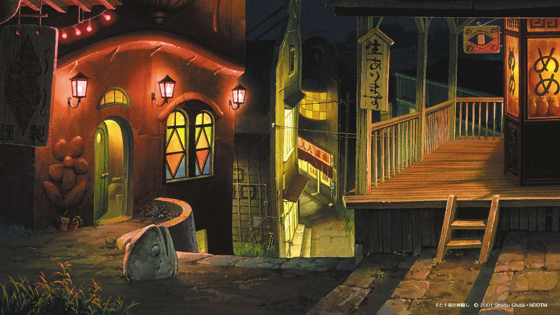 The Animation Studio Behind Totoro And Spirited Away Just Released 16 Free Zoom Backgrounds So You Can Work From Home Inside A Fantasy World Business Insider India