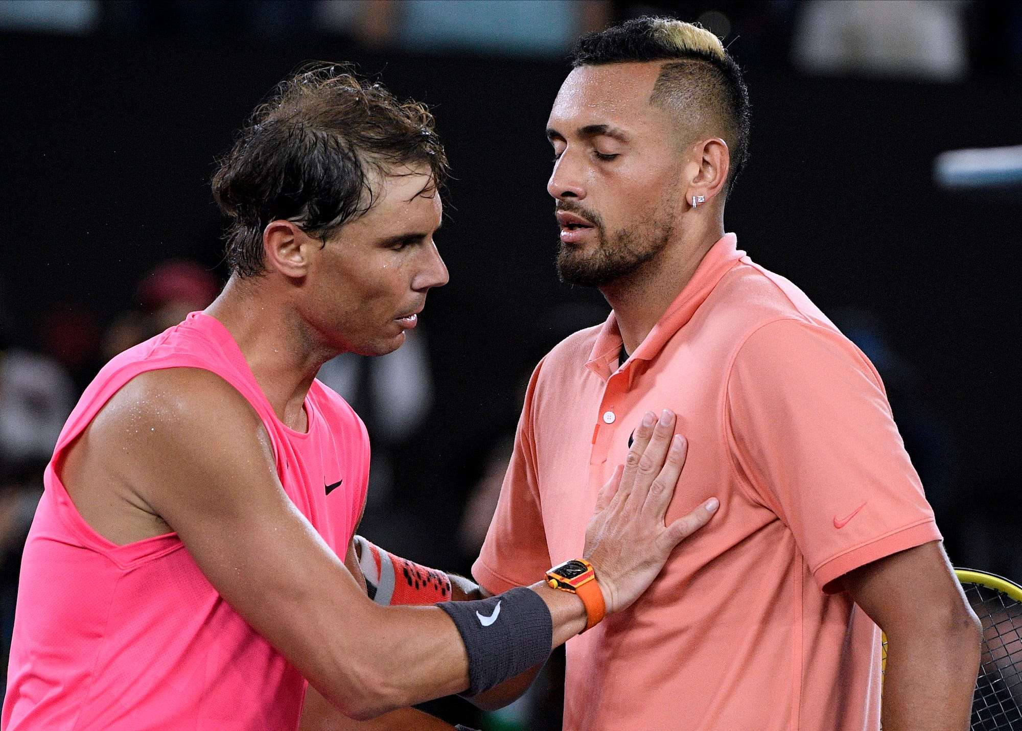 Nick Kyrgios Calls Out Rafael Nadal For Instagram Live Chat Insider