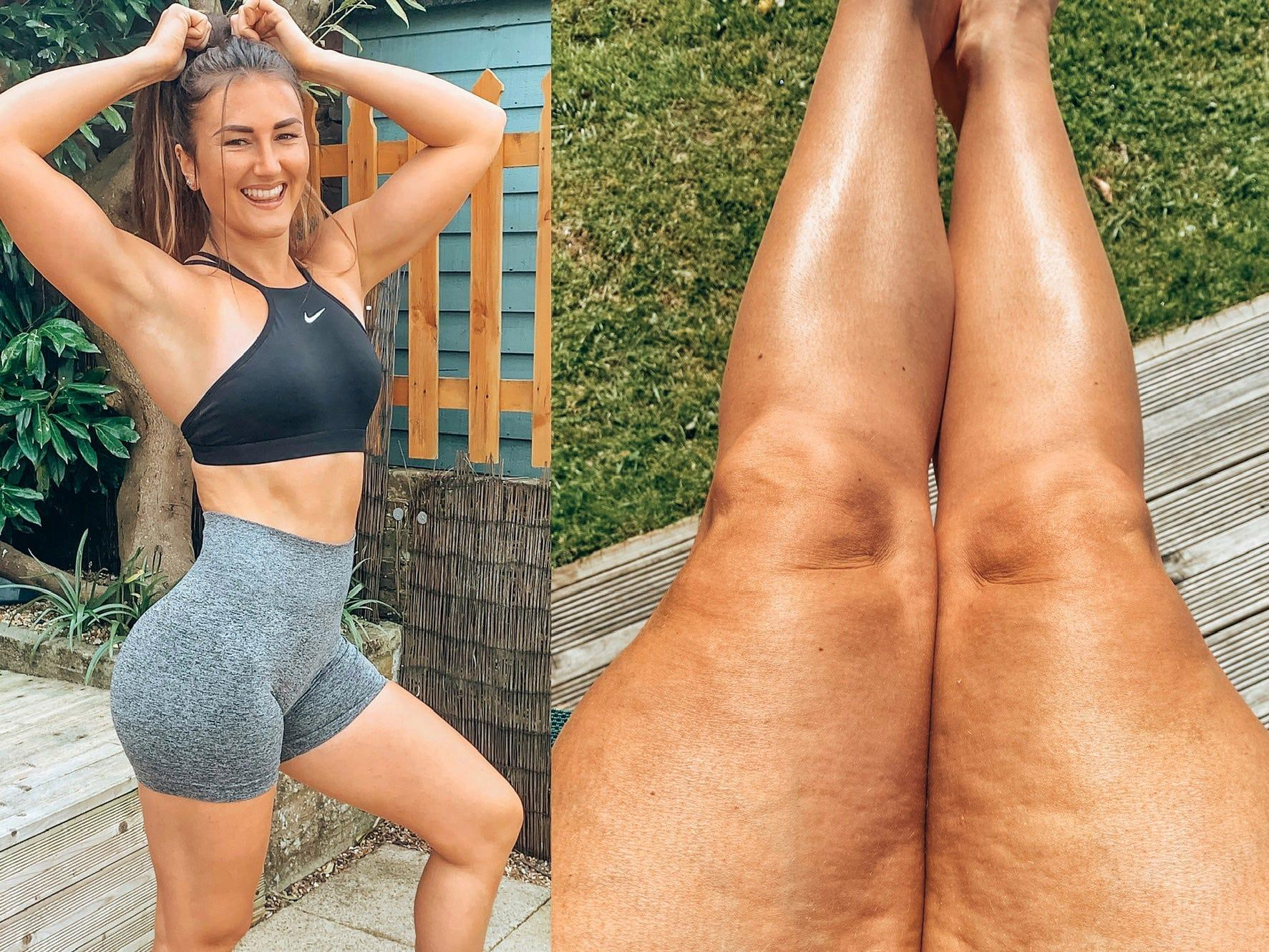 Instagram Fitness Influencer Hayley Madigan Shows Cellulite And Flaws Insider