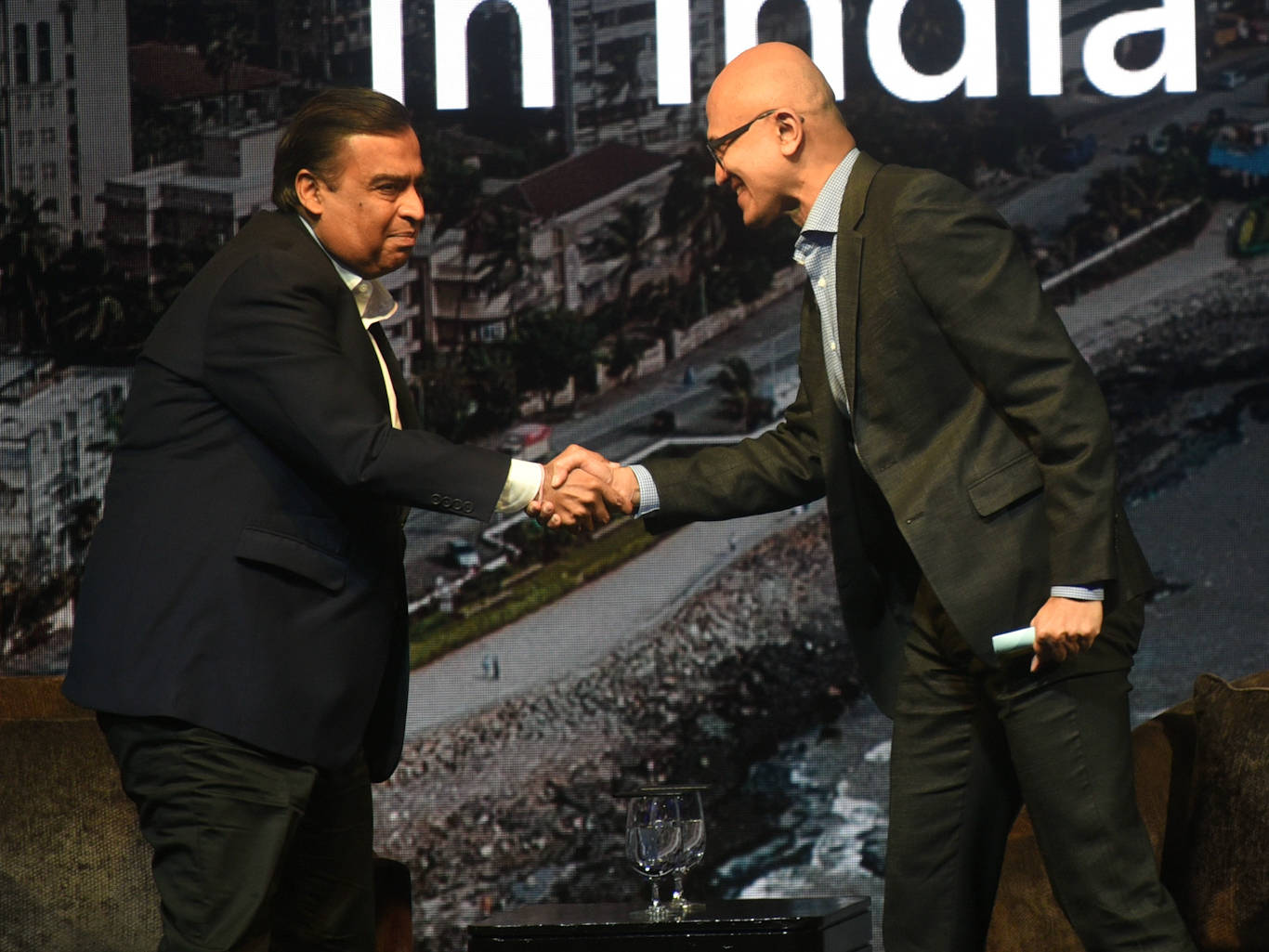 Microsoft and Mukesh Ambani's Reliance Jio are already partners in India— but Satya Nadella reportedly wants more