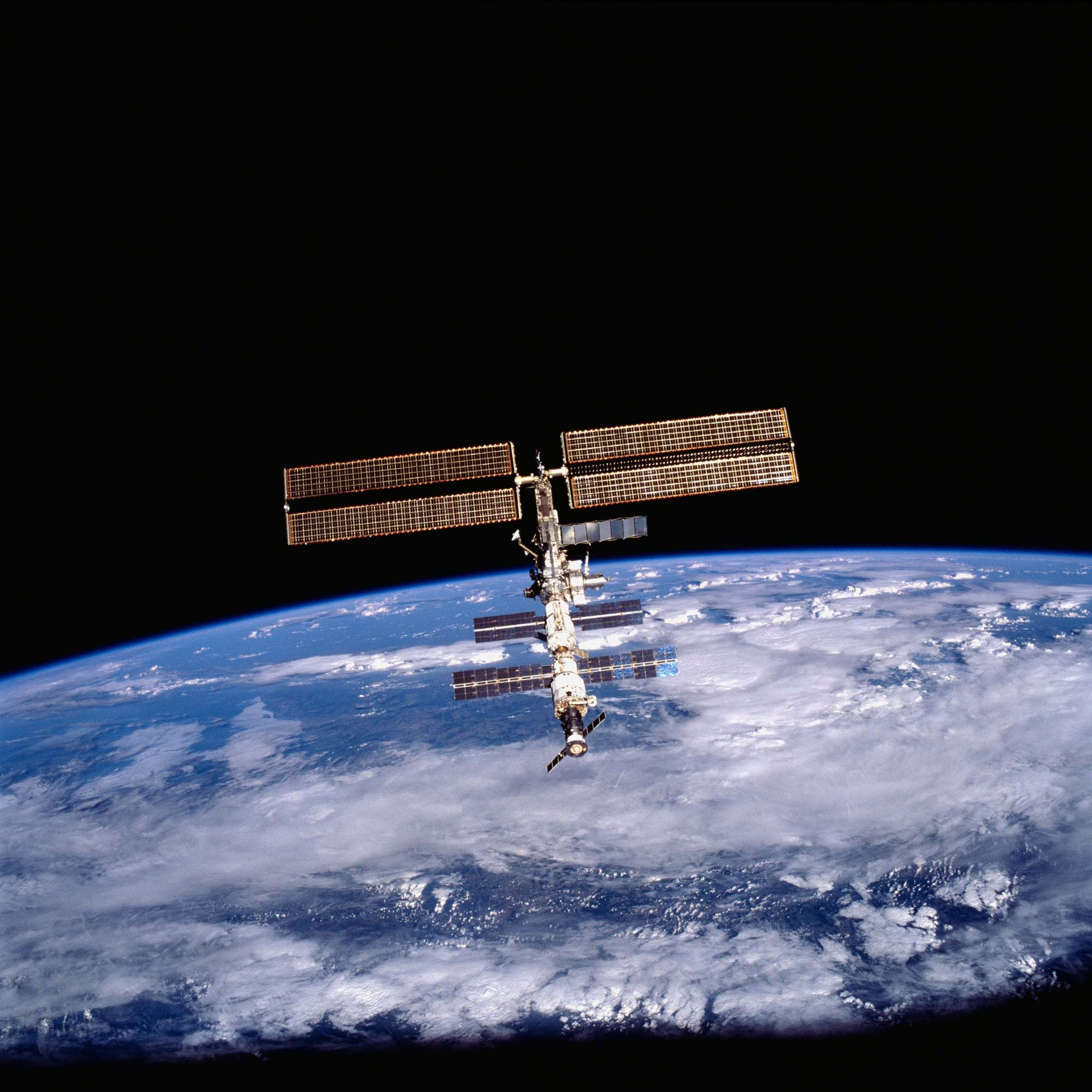 From 250 miles above Earth orbiting the planet at 17500