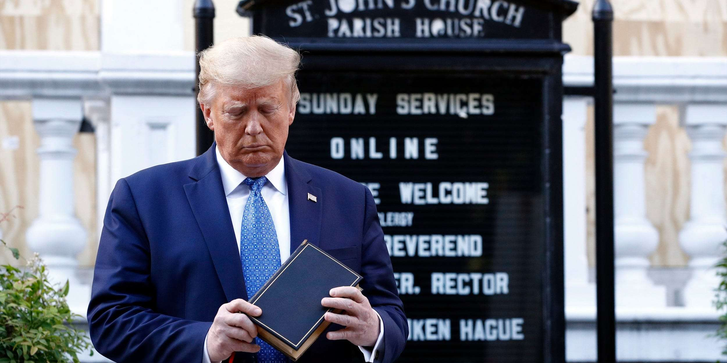 DC Episcopal bishop 'outraged' after Trump hosted photo-op church ...