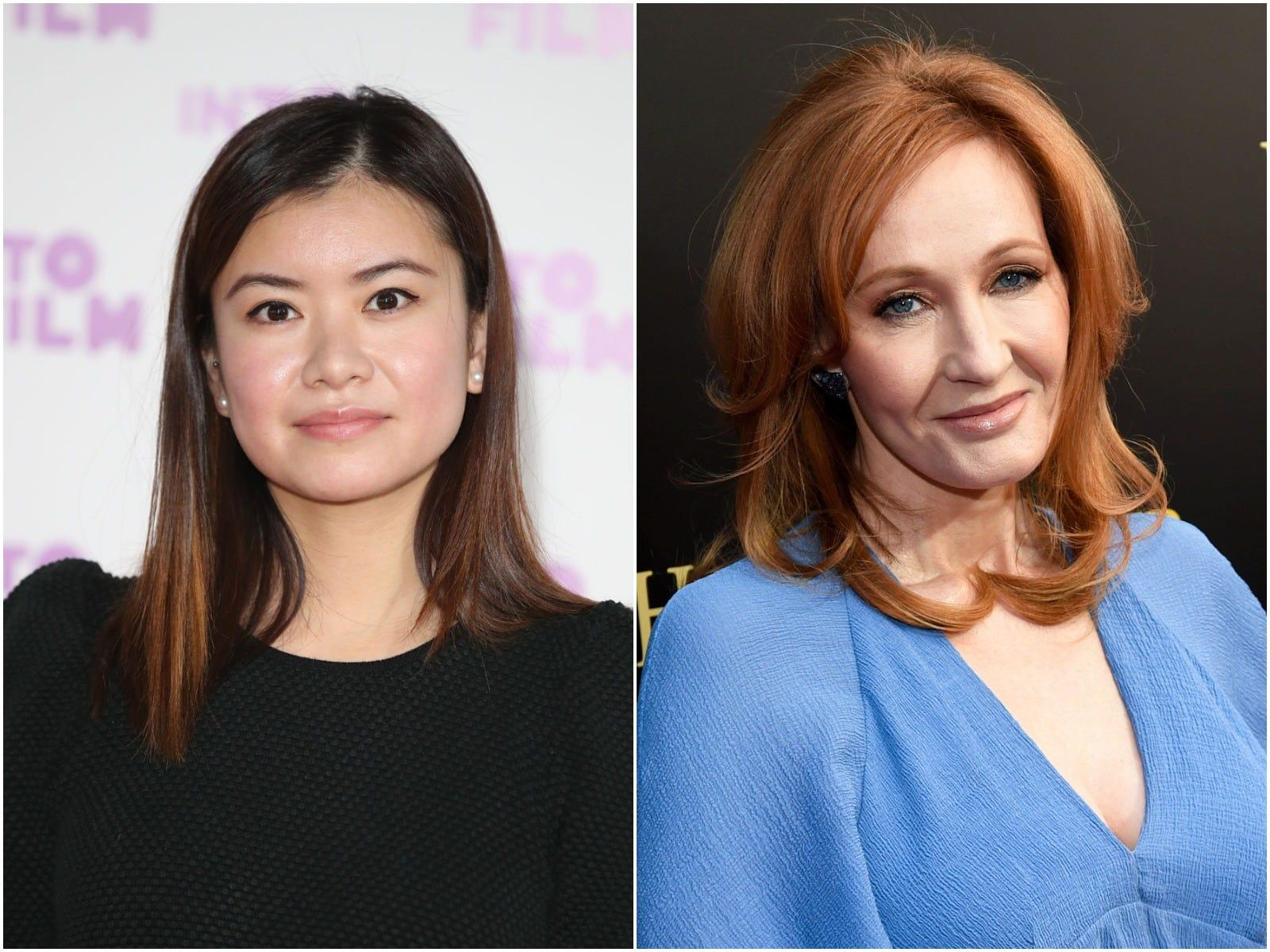 the actress who played cho chang in harry potter responded after jk rowling was called out for the character s name business insider india business insider india