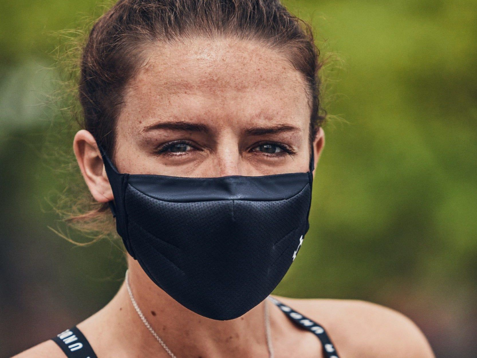 Under Armour S Sportsmask Sold Out In Less Than An Hour As People Scramble To Find Masks They Can Tolerate While Working Out Business Insider India