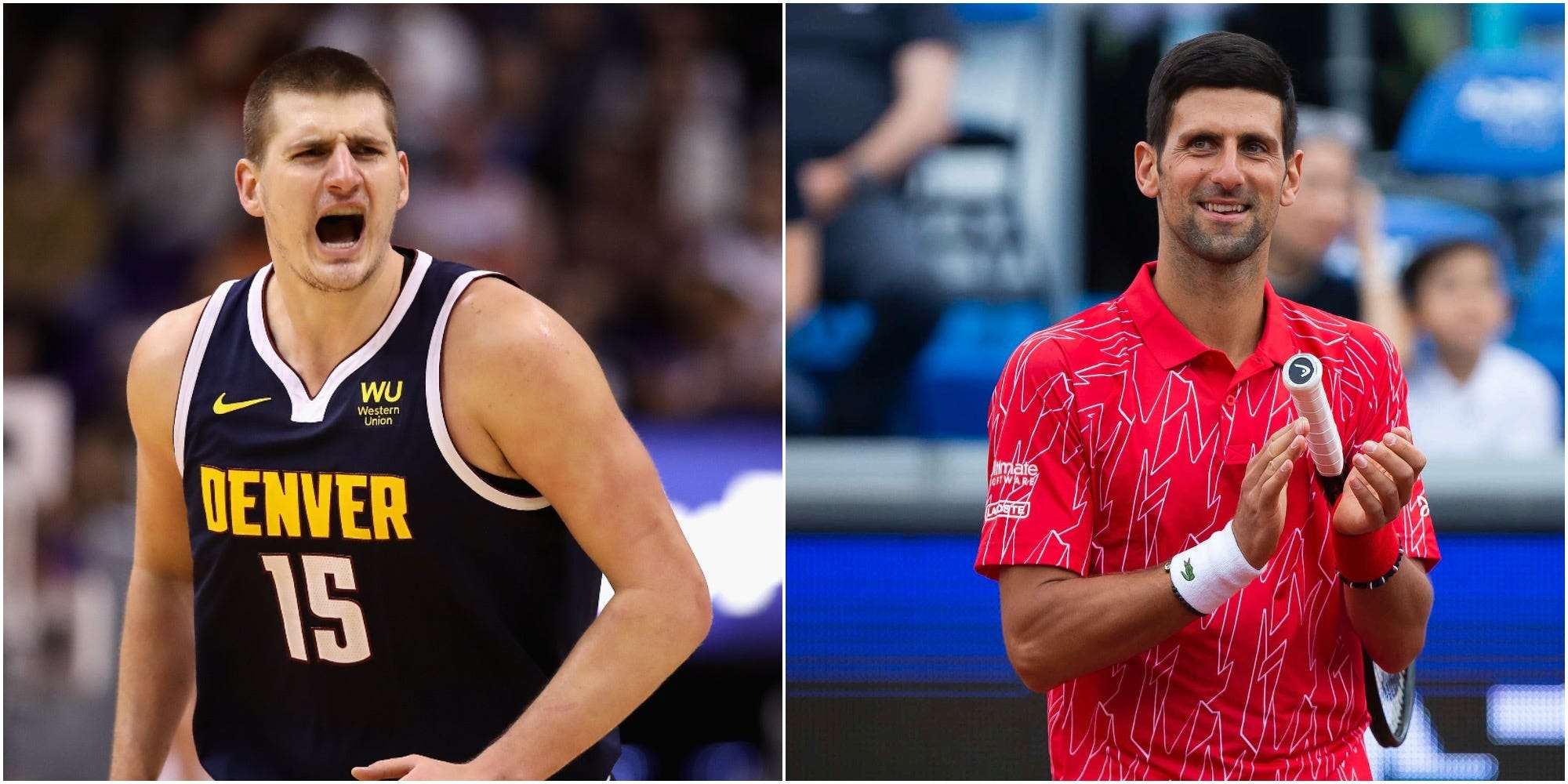 Nba S Jokic Positive For Coronavirus After Novak Djokovic Encounter Insider