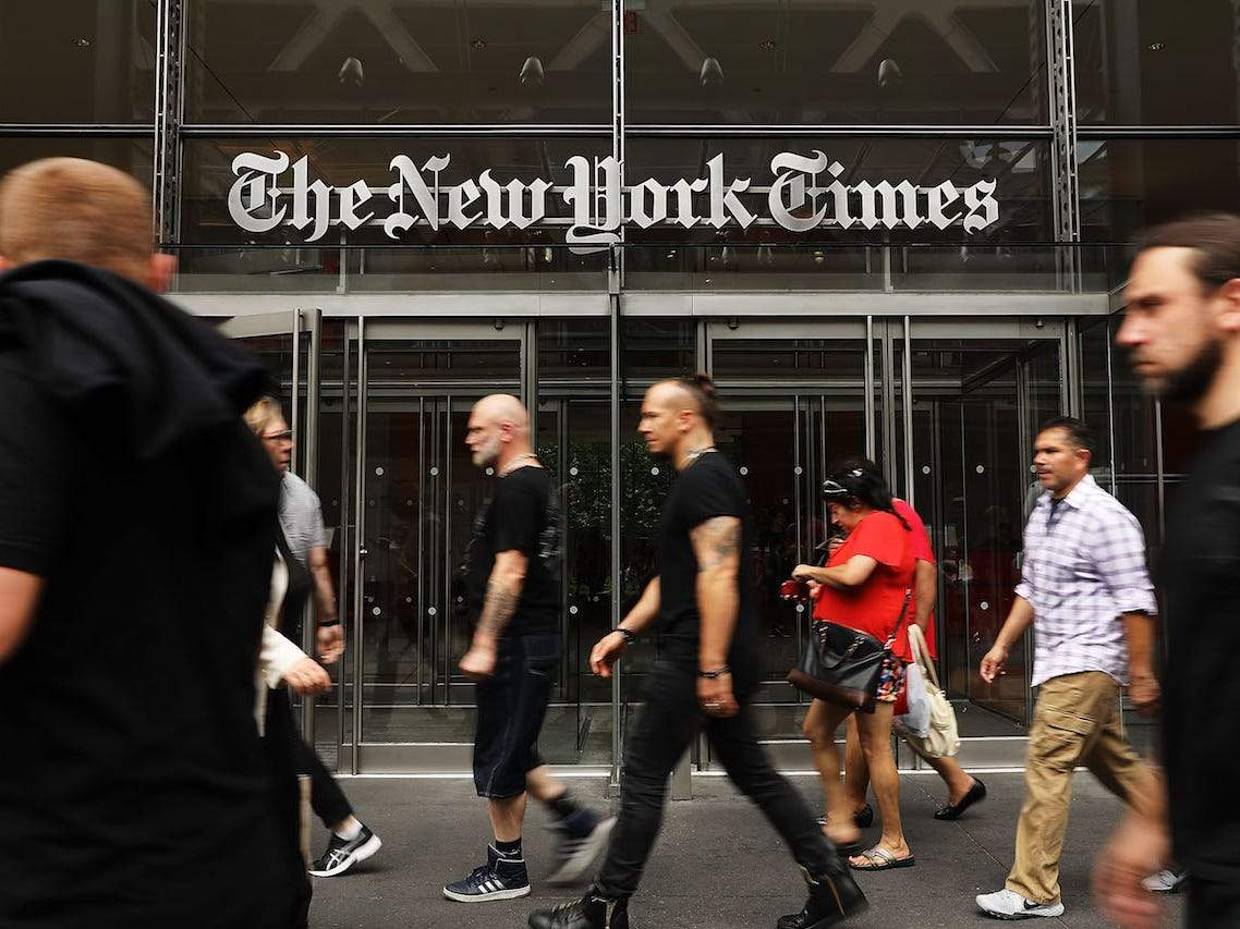 The New York Times has quit Apple News